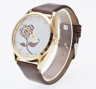 Women's 3D Hollow Engraving Roses Luxury Brand Quartz Wristwatch Fashion Watches(Assorted colors) Cool Watches Unique Watches