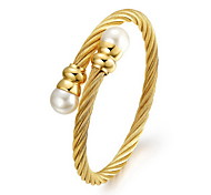 Women's Fashion Gold Plated Cuff Bracelet
