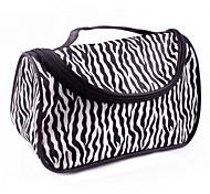 Zebra Stripe Cosmetic Bag