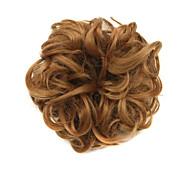 Wig Brown 6CM High-Temperature Wire Hair Circle Colour 7027
