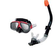 outlets de marcas Intex óculos de natação unissex plástico impermeável de plástico transparente