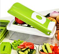 Hachoirs à Légumes Acier inoxydable / Plastique,