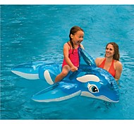 INTEX Sit 'n Float Classic Inflatable Raft Swimming Pool Lounge152*114