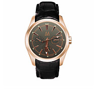 Men's Fashion Casual Quartz Watch Leather Band