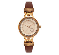 Julius® Korea Fashion Waterproof Quartz Leather Belt Women Watch Vogue Schoolgirl Watch JA-783