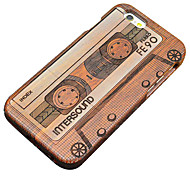 Pear Wooden Magnetic Tape Carving Protective Back Cover Hard iPhone Case for iPhone SE/iPhone 5S/iPhone 5