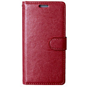 For Sony Case Wallet / Other Case Full Body Case Solid Color Soft PU Leather Sony Other