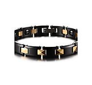 Unisex Jewelry Health Care Black Ceramic Hematite Bracelet