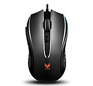 Orginal Rapoo V300C Gaming Mouse 4 Mode Adjustable 4000 DPI  Programable 8 Buttons Breathing Light Computer PC Laptop