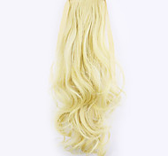White Length 50CM Factory Direct Sale Bind Type Curl Horsetail Hair Ponytail(Color 60/86)