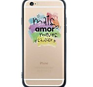 iPhone 6s Plus/6/iPhone 6s/6 TPU Soft Colorful Back Cover