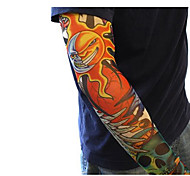 Arm Warmers Bike Breathable / Dust Proof / smooth Women's / Men's Light Coffee Elastane