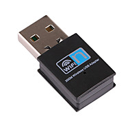 Mini USB Wifi Receiver Wireless Adapter RTL8192 300Mbps