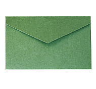 5 elegante de la invitación de negocios sobre una lámina de oro (color al azar)