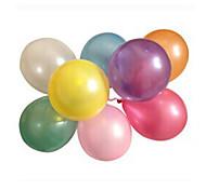 100pcs/lot Латекс Гелий Inflable Утолщение Перл свадьбу или день рождения шар