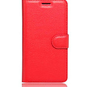 Embossed Card Wallet Bracket Type Protective Sleeve For HUAWEI Honor 5C Mobile Phone