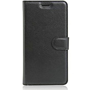 The Embossed Card Support Protective Cover For Lenovo VIBE C A2020 Mobile Phone
