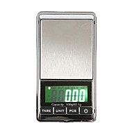 500g/0.1g Portable Mini Digital LCD Electronic Jewelry Pocket Gram Weight Scale