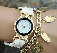 europeu liga corda estilo de moda feminina deixa pulseira relógio