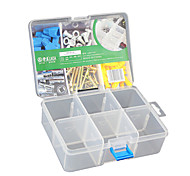 Plastic Storage Box Compartment Firm Adjustable Finishing Desktop Accessories Parts Containers