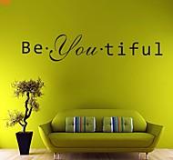 Слова и фразы / Романтика / Мода / фантазия Наклейки Простые наклейки,PVC 11*58cm