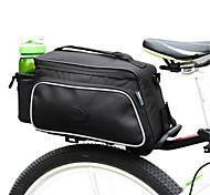 ROSWHEEL® Bolsa de Bicicleta 10LMala para Bagageiro de Bicicleta/Alforje para BicicletaÁ Prova-de-Água / Camurça de Vaca á