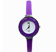 Women's Casual Fashion Quartz Watch Thin Leather Band Wrist Watch
