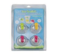 balles de bricolage moule de glace (4 pièces)