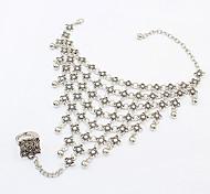 Braccialetti anello 1 pezzo,Argento Bracciali Vintage / Alla moda Lega / Resina Gioielli Da donna
