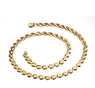 Ожерелье Ожерелья-бархатки Бижутерия Повседневные Мода Медный 1шт Подарок