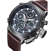 Men's Dress Watch Quartz Analog-Digital Wrist Watch Alloy Band Fashion Watch(Assorted Color) Cool Watch Unique Watch