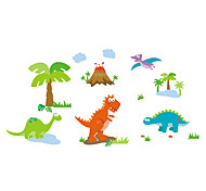 9044-y Cartoon Wall Stickers for Kids ,VINYL Material Removable Animals Stickers Home Decor Wall Decal