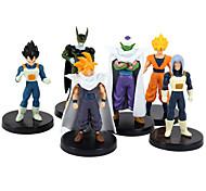 Dragon Ball 24 geração de 6 figura sete brinquedo dragão figuras bola anime de acção modelo