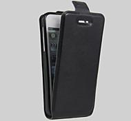 Body collant Support de Carte / Pare-chocs / Anti poussière Couleur unie Cuir PU Doux Flip Leather Couverture de cas pour AppleiPhone 6s