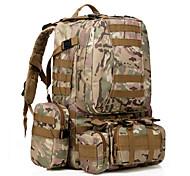 35 L Zaino per escursioni Campeggio e hiking All'aperto Impermeabile / Multifunzione Nero / Verde militare / Mimetito Nylon