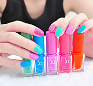 5pcs Colorful Nail Polish Manicure Sets