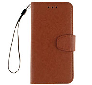 Litchi Grain Wallet Stand Shell Cover PU Leather With Phone For lenovo A536/A358T/K3/A6000/P70T/S90/K3 Note