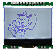 12864G-086-PN 12864 dot matrix LCD module with serial interface board
