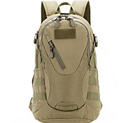 30 L Rucksack Camping & Hiking Outdoor Waterproof Gray / Black / Light Yellow / Brown / Army Green / Camouflage Nylon