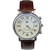 Männer Casual Mode Analog-Digital-Quarz mechanische Uhr