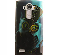 Owl Painting Pattern TPU Soft Case for LG G4/G4Mini/G4C/G3Mini/G3