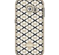 Urban Pioneer TPU Cell Phone Soft Shell Hollow Split for Samsung Galaxy S6/S6 Edge/S7 Edge