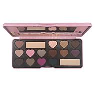 16 sombras de ojos colores de maquillaje desnuda belleza de larga duración comestic