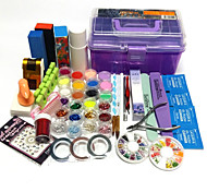 35 Sets Nail Kit Nail Art Decoration Accessories Nail DIY Nail Polish Kit
