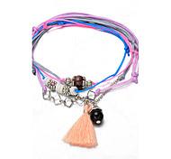 Bracelet Chaînes & Bracelets / Charmes pour Bracelets / Bracelets Wrap / Loom Bracelet / Bracelets de rive Alliage / Dentelle Amour Mode