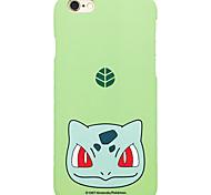 Pocket Little Monster Bulbasaur 5.5 inch Iphone 6p/6splus Hard Matting Cellphone Cover