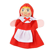 Finger Toy Little Red Riding Hood and the Wolf Fairy Tale Finger Puppet Puzzle Educational Parent-child toys