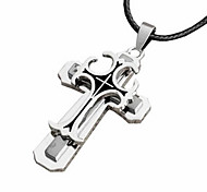 The Cross Necklace Titanium Stainless Steel Jewelry Pendant