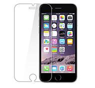 protectores de pantalla de membrana de vidrio templado evitar daños para el iphone 6 / 6s (2 piezas)