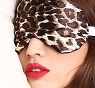 путешествия спальный тип маска для глаз 0007 леопарда шелк